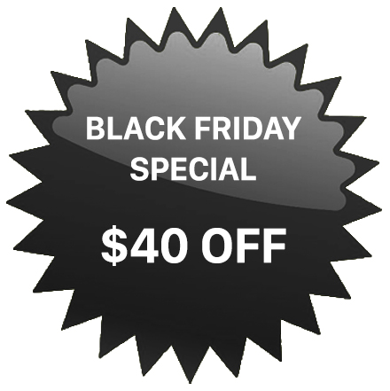 BLACK FRIDAY PROMOTION
